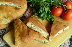 Kaukaski kulebiak Zdjęcie Royalty Free