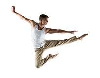 Kaukaski męski tancerz Obraz Stock