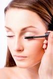 Kaukaski piękno - makijaż Obraz Royalty Free