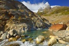 Kaukasus-Ansicht lizenzfreies stockfoto
