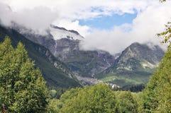 Kaukasus berg Fotografering för Bildbyråer