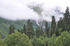 Kaukasus berg Royaltyfri Bild