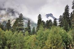 Kaukasus berg Royaltyfri Fotografi