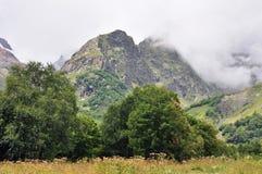 Kaukasus berg Arkivbild