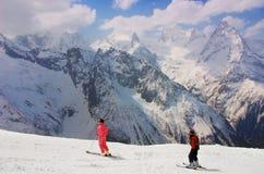 Kaukasus-Berg Stockfotos
