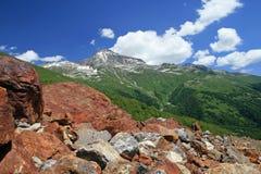 Kaukasus-Berge Stockbilder