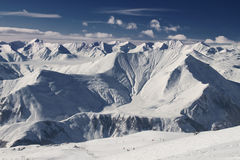 Kaukasus-Berge lizenzfreies stockfoto