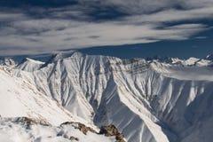 Kaukasus-Berge stockfotos