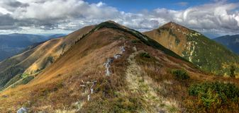 Kaukasus-Berge, Dombay Stockbild