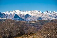 Kaukasus-Berge, Dombay Lizenzfreie Stockfotografie