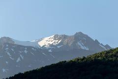 Kaukasus-Berge, Dombay Stockfotos