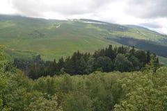 Kaukasus-Berge, Dombay Natur, Berge und Wälder Wunder der Natur stockfotografie