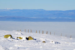 Kaukasus-Berge, Georgia Lizenzfreies Stockfoto