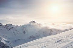 Kaukasus-Berge, Georgia Gudauri Lizenzfreie Stockfotografie