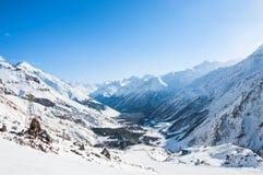 Kaukasus-Berge, Georgia Gudauri Lizenzfreies Stockfoto