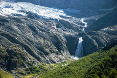 kaukasus Eine Landschaft in den Bergen Stockbild