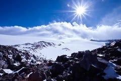 Kaukasus-Gebirgsreise Stockfoto