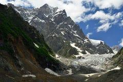Kaukasus in Georgia Lizenzfreies Stockbild