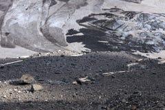 Kaukasus-Gletscher Lizenzfreie Stockfotografie