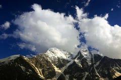 Kaukasus-Landschaft Stockfotografie