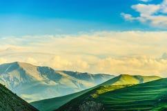 Kaukasus-Landschaft Lizenzfreie Stockfotos