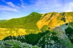 Kaukasus-Landschaft Stockfotos