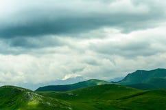 Kaukasus landskap Arkivbild
