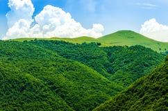 Kaukasus landskap Arkivbilder