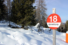 Kaukasus, Region Dombay Stockfotos
