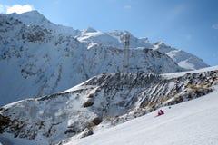 Kaukasus, Region Dombay Lizenzfreie Stockbilder