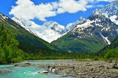 Kaukaz dolina zdjęcie stock
