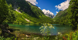 Kaukaz, Jeziorny Badukskoe Zdjęcie Royalty Free