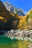 Kaukaz krajobraz Zdjęcia Royalty Free