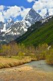 Kaukaz widok Zdjęcie Royalty Free