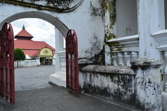 Kauman Gedhe Mosque stock photo