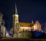 Kaunas Švč. Mergelės Marijos Ėmimo į dangų Chirch Royalty Free Stock Image