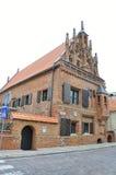 Kaunas August 21,2014-Perkuno house from Kaunas in Lithuania Royalty Free Stock Photo