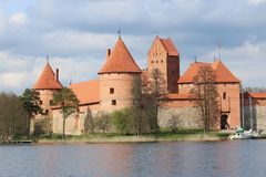 Kaunas Castle, Λιθουανία Στοκ Εικόνες