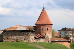 Kaunas Castle, Λιθουανία Στοκ εικόνα με δικαίωμα ελεύθερης χρήσης