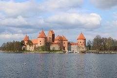 Kaunas Castle, Λιθουανία Στοκ Φωτογραφίες