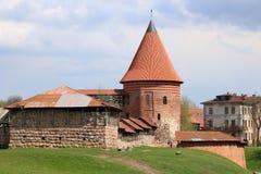Kaunas Castle, Λιθουανία Στοκ φωτογραφίες με δικαίωμα ελεύθερης χρήσης
