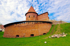 Kaunas Castle, built during the mid-14th century, in the Gothic Royalty Free Stock Photos