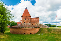 Kaunas Castle Wide Angle View Royalty Free Stock Images