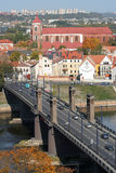 Kaunas city Stock Photography