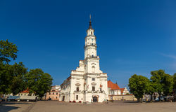 Kaunas City Hall - Lithuania Royalty Free Stock Photo