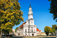 Kaunas City Hall, Lithuania Stock Images