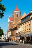 Kaunas, Litauen Stockfotografie