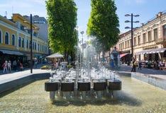 Kaunas Litauen Arkivfoton