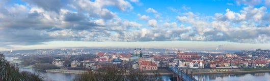 Kaunas Litauen Fotografering för Bildbyråer