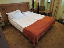 Hotel room in Kaunas Royalty Free Stock Images